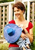 Breast Feeding Baby Hat 6 12 months Milky Way BLUE