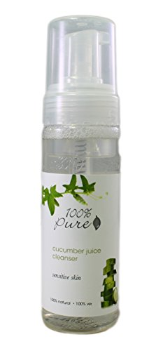 100% Pure Facial Cleansing Foam Cucumber Juice 6 oz (Juice Face Wash compare prices)