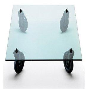Amazon.com - Rectangle Tavolo con ruote Coffee Table by Fontana Arte