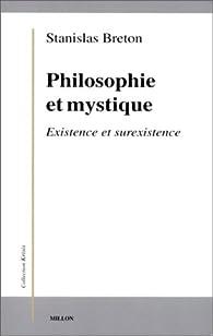 Philosophie et mystique par Stanislas Breton