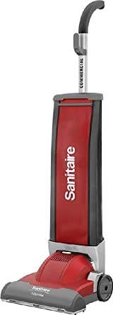 "Sanitaire SC9050A Commercial Duralite CRI Approved Upright Vacuum Cleaner with 5 Amp Motor, 13"" Cleaning Path"