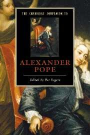 The Cambridge Companion to Alexander Pope (Cambridge Companions to Literature)