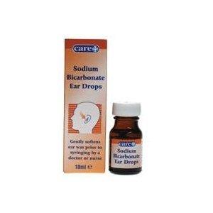 Care Sodium Bicarbonate Ear Drops 10ml