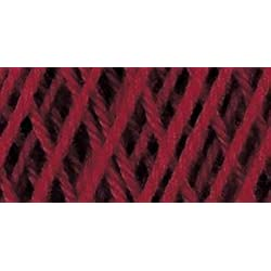 Coats Crochet South Maid Crochet, Cotton Thread Size 10, Victory Red