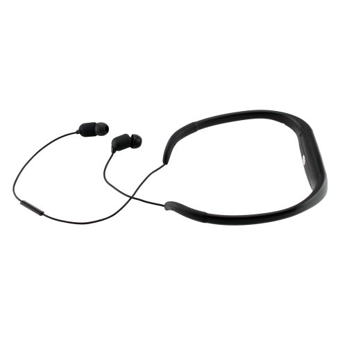 Gearonic Waterproof Bluetooth Headset Compatible With Ipod, Iphone 4/5/5S, Galaxy S3/S4 And Other Bluetooth Enabled Devices - Retail Packaging - Black
