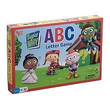 University Games Super Why ABC Letter Preschool Game