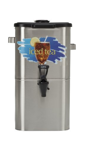 Wilbur Curtis Iced Tea Dispenser 4.0 Gallon Tea Dispenser, Oval 17