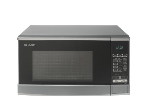 Sharp R270SLM 20ltr Solo Microwave Silver