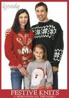 Festive Knits - Family Knitting Patterns