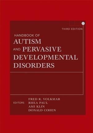 Handbook of Autism and Pervasive Developmental Disorders,...