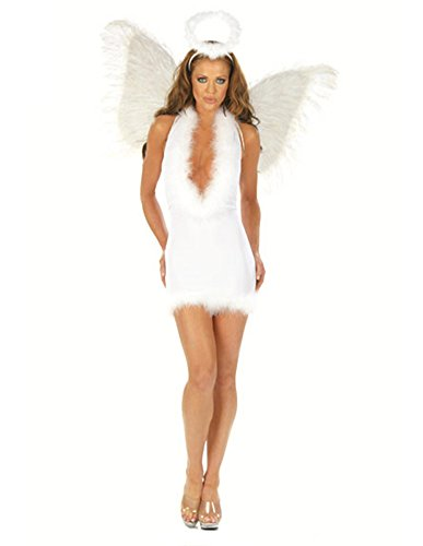 Sexy Maribou Feather Angel Dress