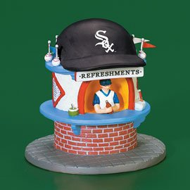 New Dept 56 Christmas in the City Chicago White Sox Refreshment Stand
