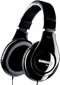 Shure Srh240a Headband Headphones Black Headest Dj Professional Sure Warranty