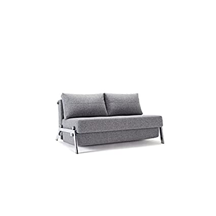 Innovation Schlafsofa Cubed Deluxe, Schlafcouch Funktionssofa grau