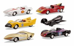 Buy Johnny Lightning 2007 – Speed Racer Factory Sealed Case Assortment 0f 12 Cars