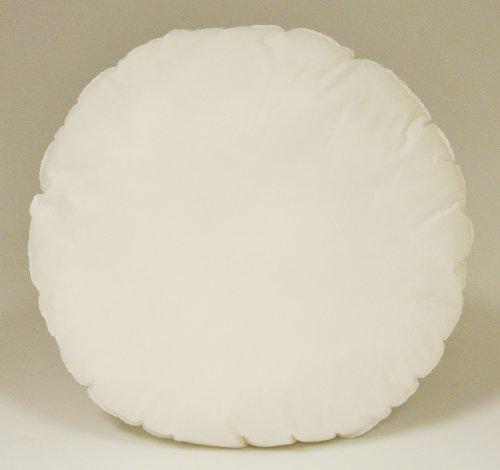 Fairfield Poly-Fil Soft Touch Pillow, 10-Inch Round, White, 1 Pillow Home Garden Decor Throw Pillows