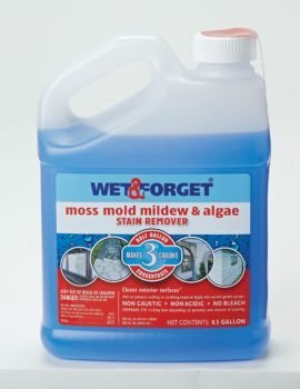 Wet and Forget 10587 1 Gallon Moss, Mold and Mildew Stain Remover (Wood Deck Cleaner compare prices)