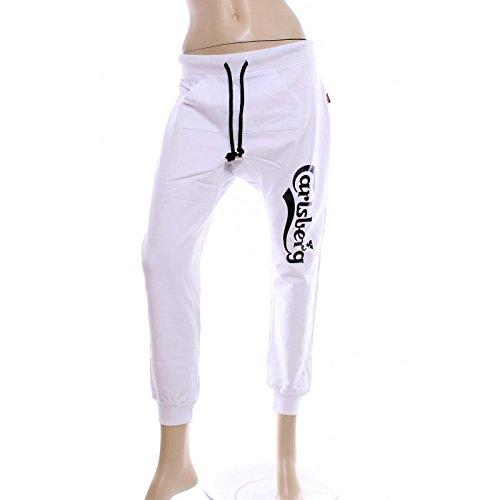 Pantalone Donna Carlsberg Bianco Cbd1189 S