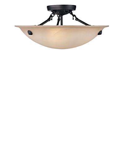 Crestwood Oxana 3-Light 16″ Ceiling Mount, Bronze