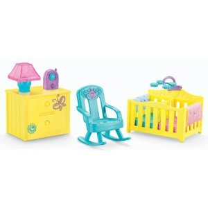 Fisher-Price Dora The Explorer Playtime Together Dora and Me Dollhouse Deluxe Nursery Furniture (Fisher Price Dora House compare prices)