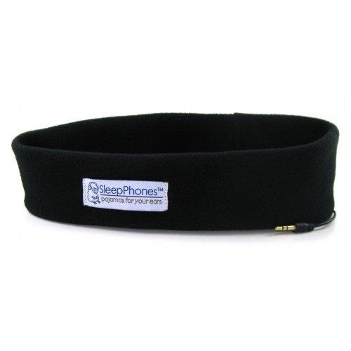 Acousticsheep Sleepphones Classic Sleep Headphones (Black, Medium - One Size Fits Most) Color: Black Size: Medium - Fits Most