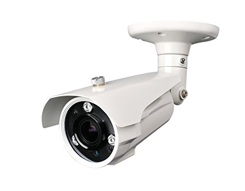 """Hq-Cam® 700Tv Lines High Resolution Security Outdoor/Indoor Weatherproof Camera 1/3"""" Sony Ex-View Ii Ccd 3Ir Matrix Infared Leds 2.8~ 12Mm Vari-Focal Lens Cctv Day And Night Visionir Distance: 100~120Ft"""