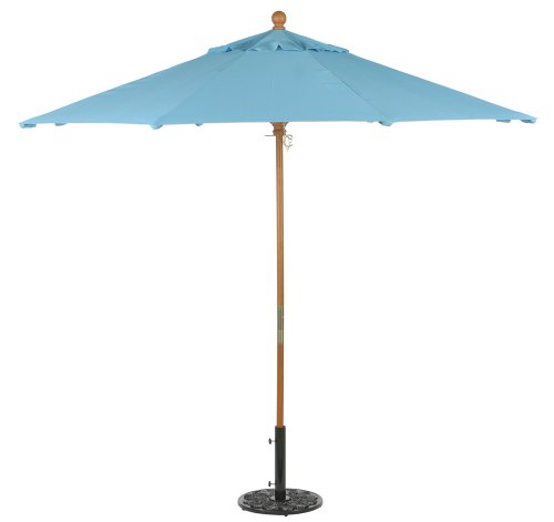 Sunbrella Market Umbrella 9' - Canvas Aruba - Buy Sunbrella Market Umbrella 9' - Canvas Aruba - Purchase Sunbrella Market Umbrella 9' - Canvas Aruba (Oxford Garden, Home & Garden,Categories,Patio Lawn & Garden,Patio Furniture,Umbrellas & Accessories,Umbrellas)