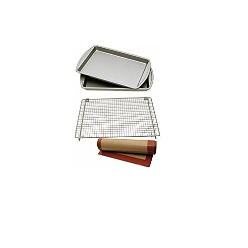 Le Chef Nonstick 4-Piece Cookie Bakeware Set front-207983