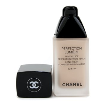 Perfection Lumiere Long Wear Flawless Fluid Make Up SPF 10 22 Beige Rose Chanel Complexion Perfection Lumiere Long Wear Flawless Fluid Make Up SPF 10 30ml 1oz