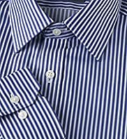 Slim Fit Ultimate Non-Iron Pure Cotton Striped Shirt