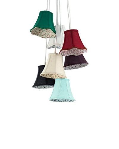 Contemporary Living  Lámpara De Suspensión Bells Multicolor