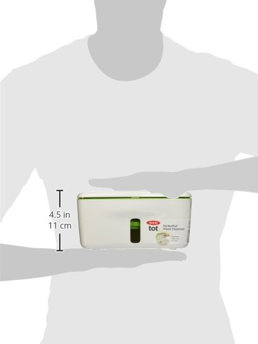 OXO Tot PerfectPull(TM) Wipes Dispenser with Weighted Plate- Green