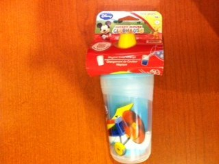 The First Years Disney Mickey Mouse Clubhouse Insulated 9 oz Sippy Cup - 1