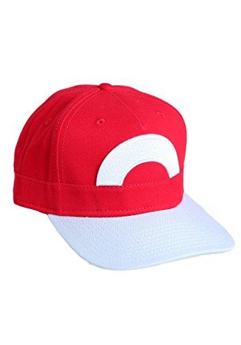 BIOWORLD Pokémon Ash Ketchum Satoshi Snapback Hat (Red Pokemon Hat compare prices)