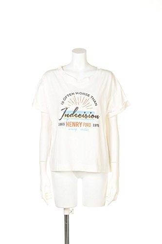 (リリーブラウン)Lily Brown ヴィンテージプリントTシャツ LWCT154177 2 OWHT F : 服&ファッション小物通販 | Amazon.co.jp