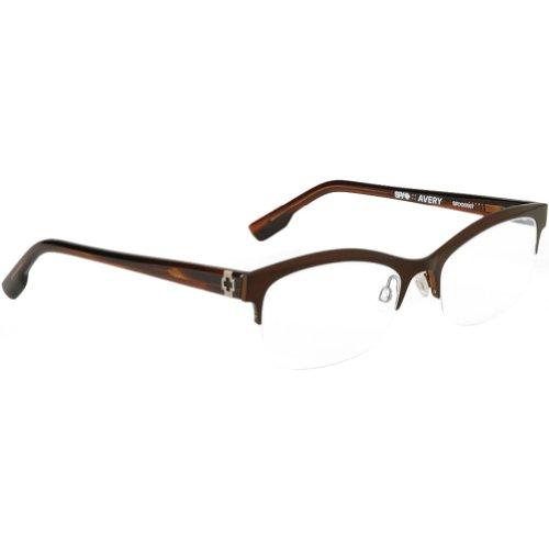 Spy Optic Avery Rx Eyeglasses - Spy Optic Adult Optical Prescription Frame - Mahogany / Size 52-17-135 front-700224