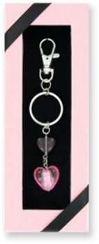 Ddi Heart Glass Keychain (Pack Of 36)