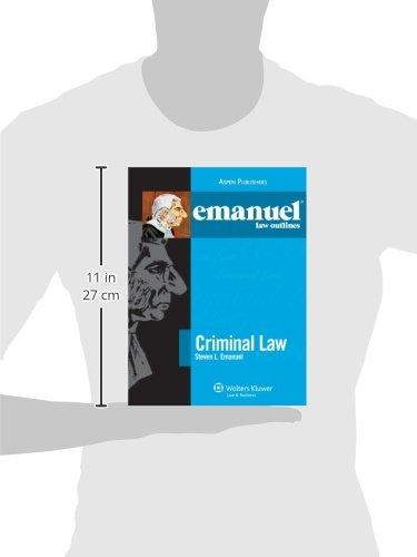 outline for criminal law