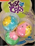 ❈ Hartz Just For Cats 3 Pack of Toy Balls for Cats ❈