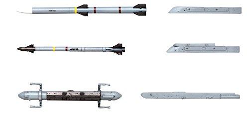 1/72 X72シリーズ エアクラフト ウェポンVIII (アメリカ 空対空ミサイル & ジャミングポッド)