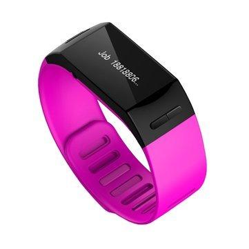 L28D-Bluetooth-Smart-Bracelet-Smartband-Sport-Band-Wristband-Purple