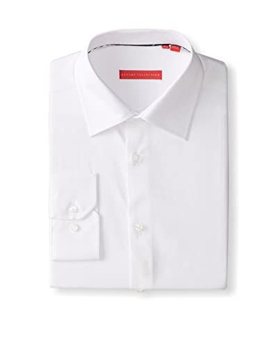 Report Mens 209313 Solid Long Sleeve Dress Shirt