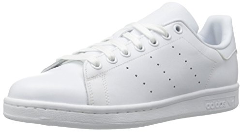 Adidas Men's Originals Stan Smith Sneaker, White/White/White, 8.5 M US