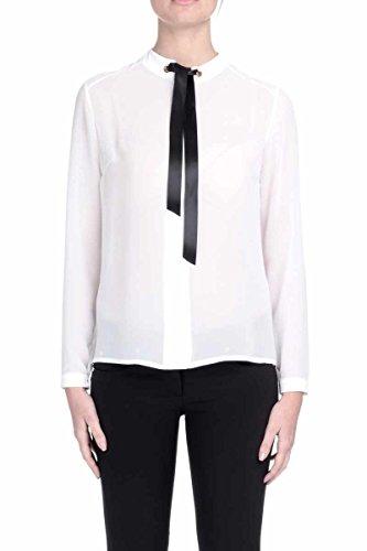 Camicia Alette Manica Lunga con Occhielli Vela Bianca RDA603009018 - Relish , S