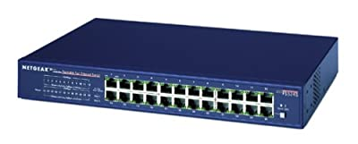 Netgear FS524 24-Port 10/100 Rackmount Ethernet Switch