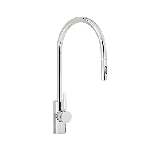 White Waterstone 4100-18-WT Towson Single Handle Kitchen Faucet