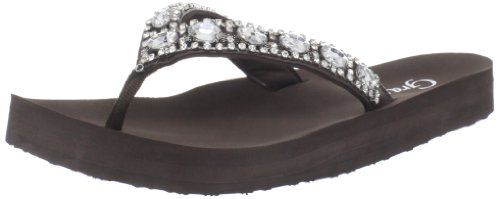 Grazie Women'S Stream Sandal,Brown,8.5 B Us front-1003284