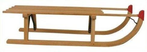 100 cm Schlitten Holz Davos