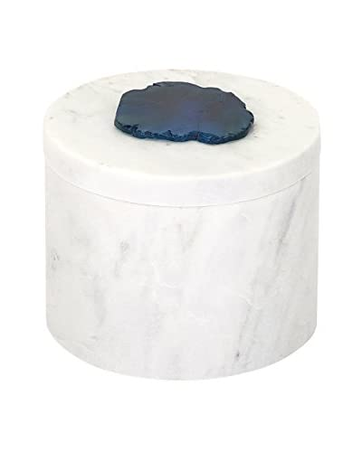 Max & Nellie Verena Marble Box with Agate