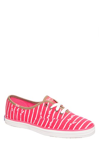 Keds Women's Taylor Swift Bow Stripe Low Top Sneaker